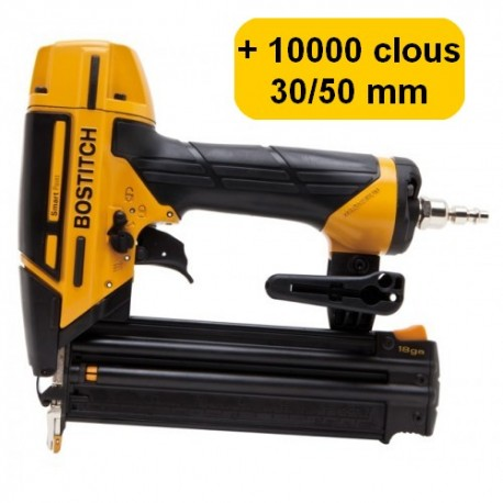BOSTITCH BT1855SP-E CLOUEUR DE FINITION clous 15 à 55mm 18GA