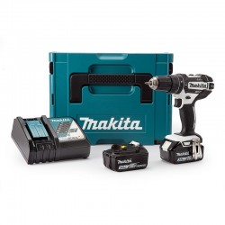 PERCEUSE VISSEUSE PERCUSSION MAKITA DHP482 (2 x 3AH) 18V LI-ION