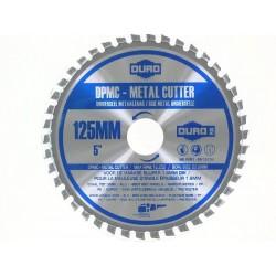 DISQUE MEULEUSE DURO DPMC CARBURE 125 mm coupe multi matériaux bois/acier/pvc...