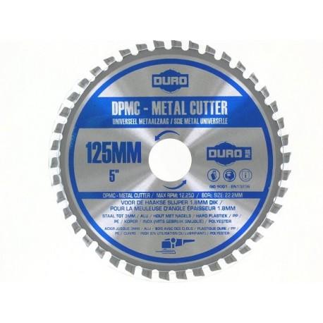 Disque meuleuse duro dpmc carbure 125 mm coupe multi mat riaux bois acier pvc ab outils - Disque coupe carrelage 180 mm ...
