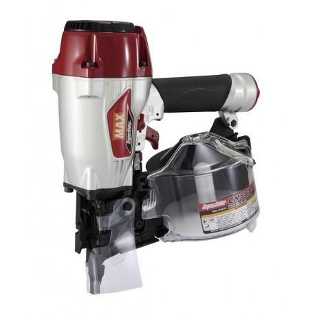 MAX CN565S2 CLOUEUR A ROULEAUX PNEUMATIQUES 15/16° clous 35/65mm