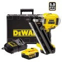 CLOUEUR DE CHARPENTE DEWALT DCN692P2 18V + 22000 clous 70mm (10 packs) 34°