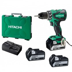 PERCEUSE VISSEUSE HITACHI DS18DBSL5AX3 (3 x 5Ah)