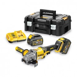 DEWALT DCG414T2 MEULEUSE 125MM XR FLEXVOLT 54V (2 x 6 Ah) reconditionnée