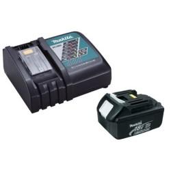 Chargeur rapide Makita DC18RC + batterie 18v BL1850B 5Ah Li-ion LXT