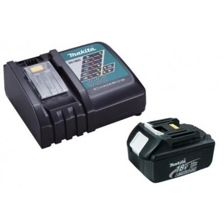 Chargeur rapide Makita DC18RC + batterie BL1830 3Ah Li-ion LXT