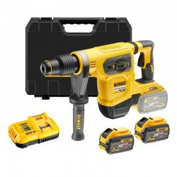 DEWALT DCH481X2 PERFORATEUR BURINEUR SDS MAX 54V (2 x 9ah) 6,1 J reconditionné