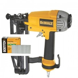 DEWALT DPN1664-XJ cloueur de finition + 4000 clous 38/64mm 16GA