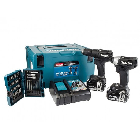 MAKITA DHP483 + DTD155 (2 x 5Ah) brushless perceuse + visseuse à choc