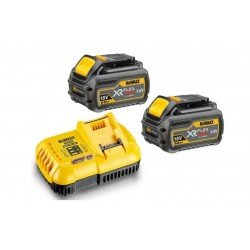 DEWALT DCB118T2 54V 2 batteries DCB546 + chargeur DCB118 Flexvolt