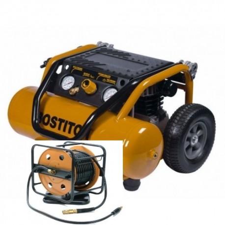 COMPRESSEUR BOSTITCH PS20-E 20L + ENROULEUR 30M CPACK30