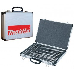 COFFRET MAKITA 17 PIECES SDS FORETS ET BURINS D-21200