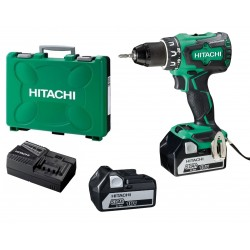 PERCEUSE VISSEUSE HITACHI HIKOKI DV18DBSL brushless (2 x 5Ah) 18v 70Nm