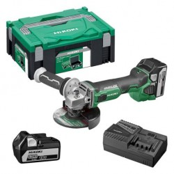Meuleuse HITACHI HIKOKI G18DBBL (2 x 5ah) 125mm 18v brushless