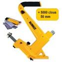 DEWALT DMF1550-XJ (ex demo) CLOUEUR A PARQUET MANUEL + 5000 clous 50mm FLN200