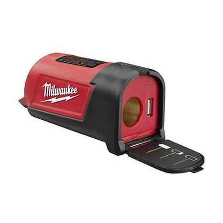 PORT DE PUISSANCE MILWAUKEE C12PP NU chargeur pour batterie 12v idéal portable