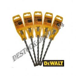 5 FORETS BETON DEWALT 10 X 210MM SDS+