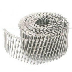 9000 CLOUS BOSTITCH ROULEAUX PLATS 15/16° 2.5 x 70 crantés acier brut