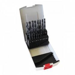 BOSCH 19 FORETS METAUX HSS-R 1 à 10 mm + coffret